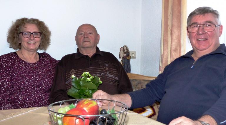 Weihnachtsbesuch der SPD bei Peter Geiger
